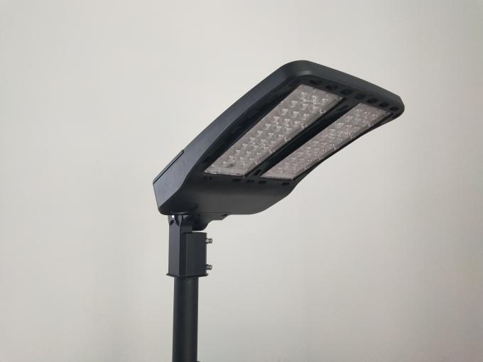 Ip66 Shoebox Led Street Light Housing 300w High Power In Grey / Black Color American market